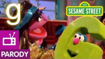 Sesame Street Spoofs GLEE