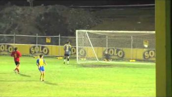 Soccer Ball Knocks Out Ball Boy