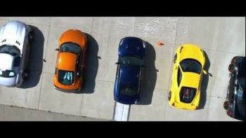 Eleven Supercars Drag Race