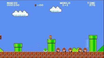 Mario Bros. With Portal Gun