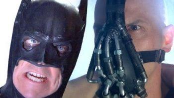 Batman Fights Bane Cook