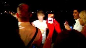 Justin Bieber Crashes Malibu Wedding