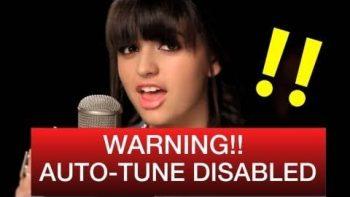Rebecca Black My Moment Without Auto Tune