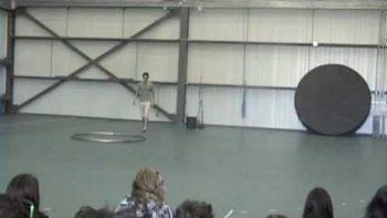 Amazing Acrobatic Hoola Hoop Ballet