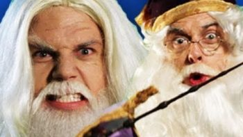 Gandalf vs Dumbledore Rap Battle