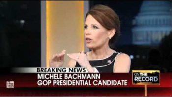 Michele Bachmann Mispronounces Chutzpa