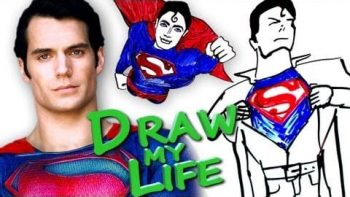 Superman Draws His Life