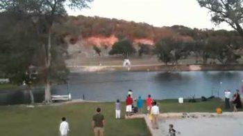 Zipline Wedding Crash