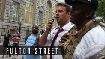 Man Goes Around New York City Reciting Independence Day Speech