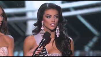 Miss Utah Fails Answer At Miss USA Pageant