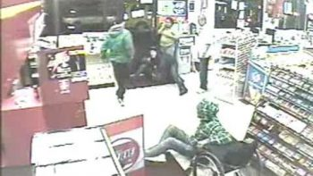 Man In Wheelchair Fights Convenience Store Robber