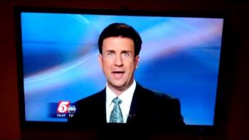 'Pledge Allegiance To The Flag' News Anchor Freudian Slip