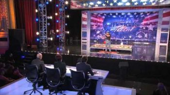 Domino Style Stick Explosion By Kinect King – America's Got Talent