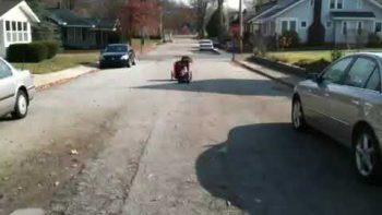 Remote Control Baby Stroller