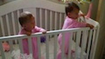 Twin Babies Sneeze At Same Time