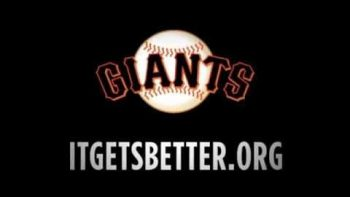 San Fran Giants Tell LGBT Teens It Gets Better
