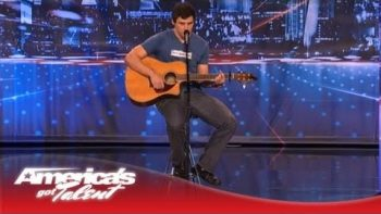 Paul Thomas Mitchell Performs 'My Life' On America's Got Talent