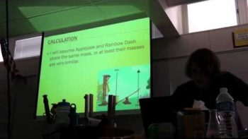 Nerd Gives EPIC My Little Pony Physics Presentation