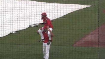 College Baseball Jousting