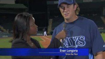 Evan Longoria Saves Reporter With Bare Hand Catch FAKE