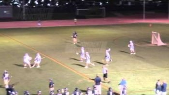 Full Court Lacrosse Goal Wins Game