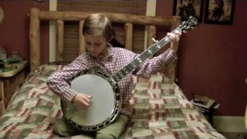 Three Young Brothers Play Blue Grass