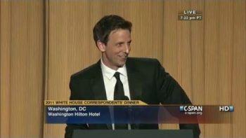 Seth Meyers Speech 2011 White House Correspondents' Dinner