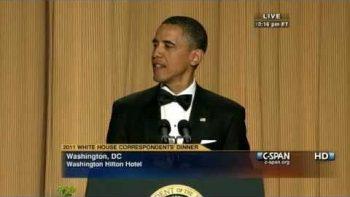 President Obama 2011 White House Correspondents' Dinner