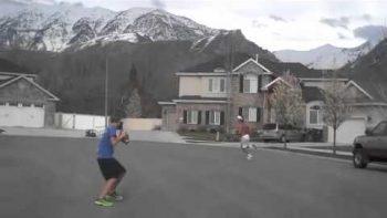 7th Grade Trick Shot Video