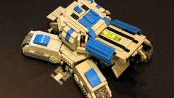Working Lego Starcraft Tank