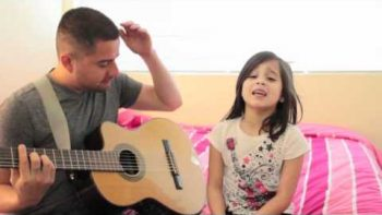 Cute Father Daughter Duo – What's Going On