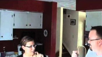 Husband Pretends To Eat Mayo April Fools Prank