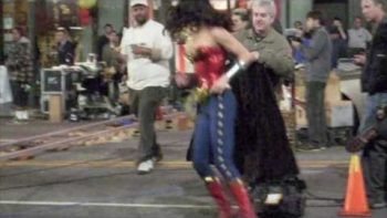 Filming Of Wonder Woman TV Show In Hollywood
