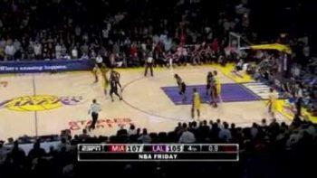 Crazy Spanish Announcer: Ra Da Da Da After Kobe Bryant Three Pointer