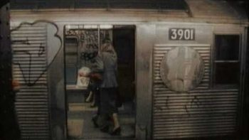 Vintage Footage Of New York City Subway In 1986