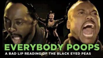 Bad Lip Reading Version Of Black Eyed Peas Boom Boom Pow