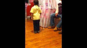 Little Boy Dances To Michael Jackson Billie Jean