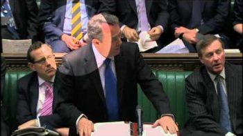 Politician Graham Evans Plays Air Guitar In Parliament