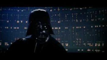 Darth Vader Recites Justin Bieber's Song Baby To Luke