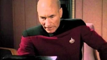 Captain Picard Gets Message From Serene Branson
