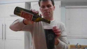 Starbucks Trenta Cup Holds Bottle Of Wine