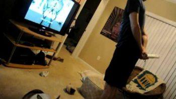 Wii Fit FAIL Breaks TV