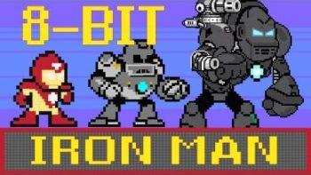 Iron Man 8-Bit Mega Man Parody