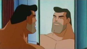 Bill Nye On Superman Shaving
