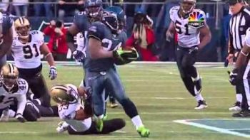 Marshawn Lynch 67 Yard Run Touch Down Sea Hawks VS Saints