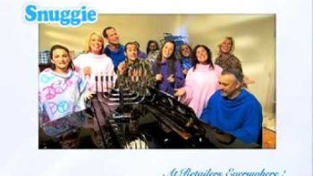 Hanuka Snuggie Commercial