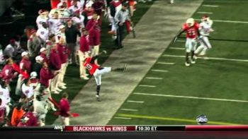 Oklahoma State Interception 11/27/10