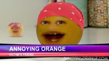 Annoying Orange Bed Intruder Spoof Auto Tune Remix