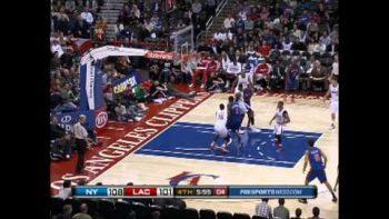 Blake Griffin Slam Dunks Clippers VS Knicks