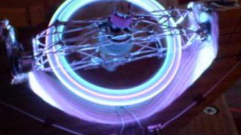 Spinning LED Light Ball